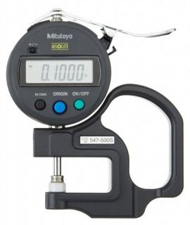 Đồng hồ đo độ dầy điện tử 0~12mm  547-500S MITUTOYO