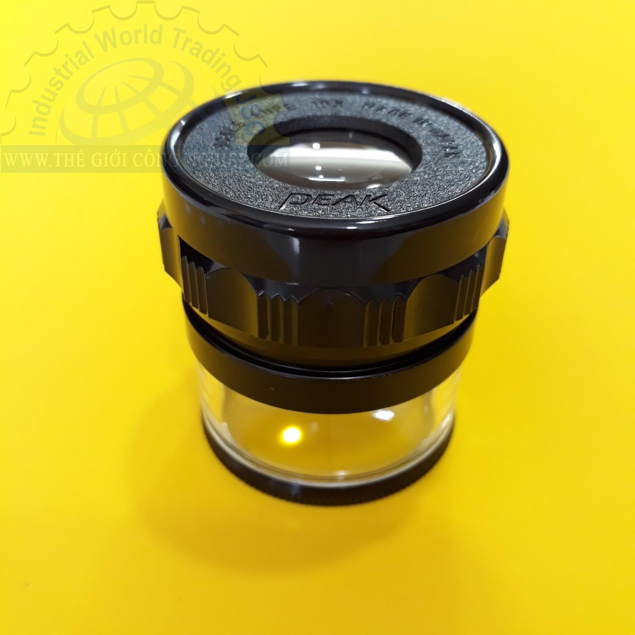 Kính lúp cầm tay có thước đo tiêu chuẩn, độ phóng đại 10x scale Loupe NoS 1983-10X 1983 1983 10X PEAK