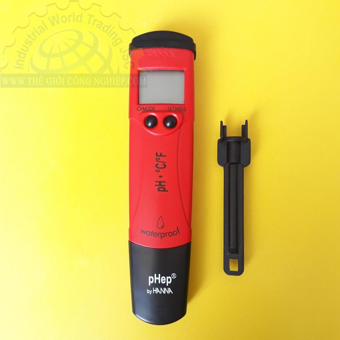 Bút đo pH và nhiệt độ -2.0-16.0 pH/ -5.0 - 60.0°C  HI-98127 Hanna