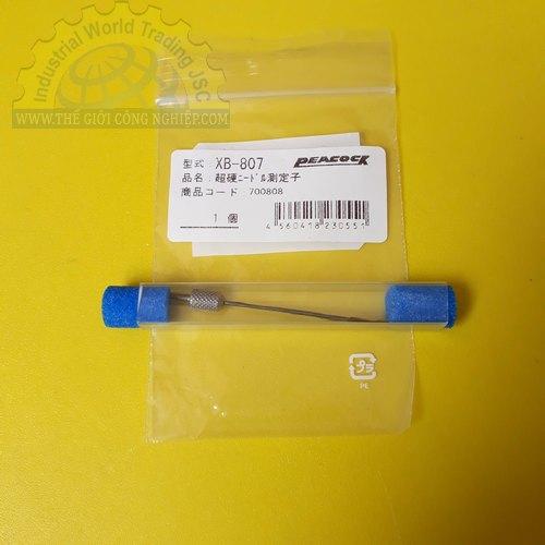 Đầu đo cho đồng hồ đo độ dầy có đường kính mũi đo 1mm  XB-807 PEACOCK