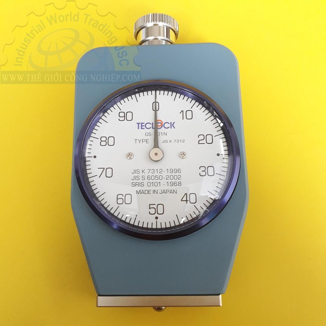 Đồng hồ đo độ cứng cao su kiểu C GS-701N Teclock