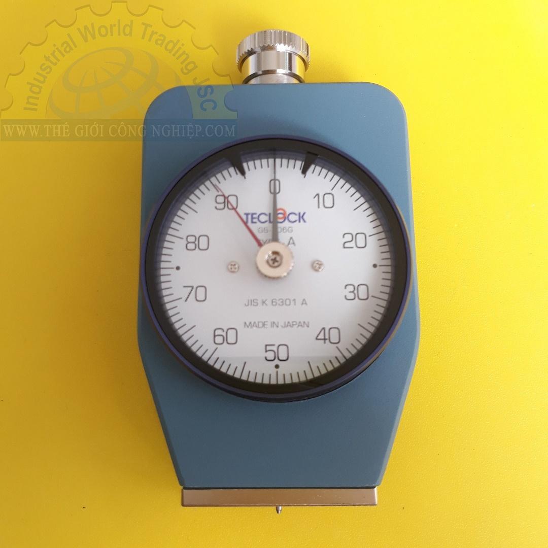 Đồng hồ đo độ cứng cao su Loại A  GS-706G Teclock