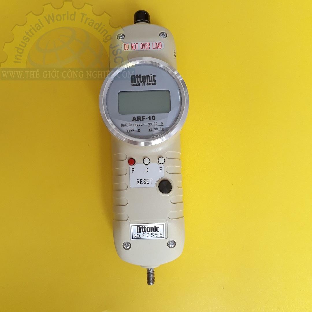 Đồng hồ đo lực kéo, đẩy điện tử 99.99N/ 9999gf ARF-10 ATTONIC
