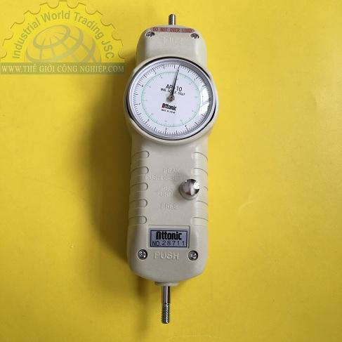 Đồng hồ đo lực kéo,đẩy 10Kg/100N AP-10 ATTONIC