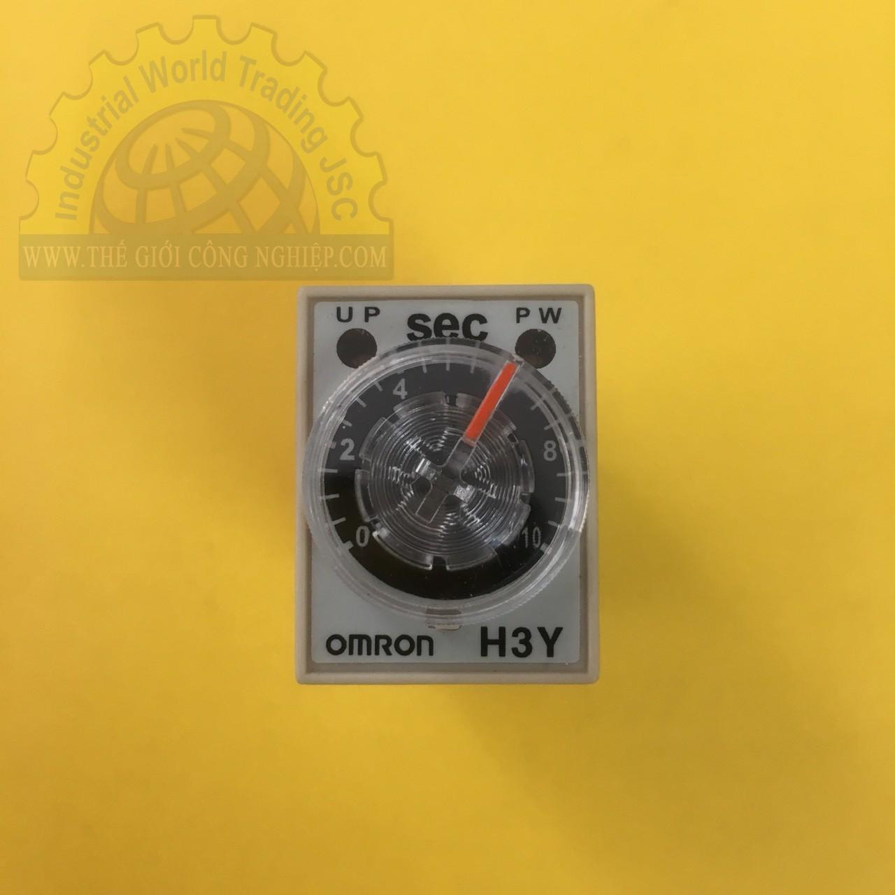 Relay thời gian H3Y-2 AC200-230 10S Omron