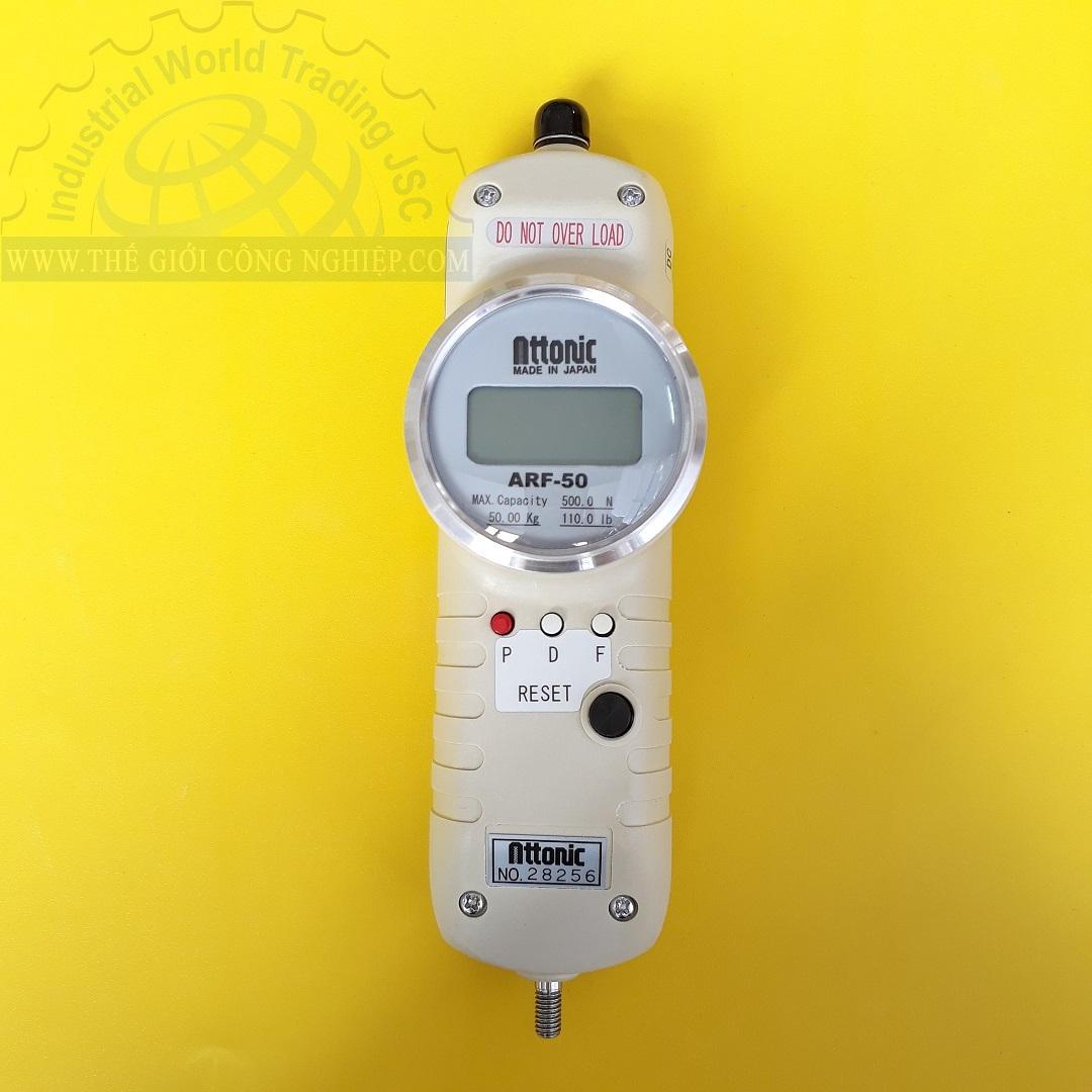 Thiết bị đo lực kéo, đẩy điện tử 500 N/50 kgf ARF-50 ATTONIC