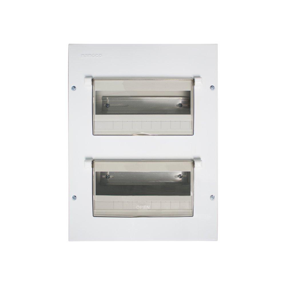 Tủ điện vỏ kim loại chứa 18 - 26 modules  NDP126 NANOCO