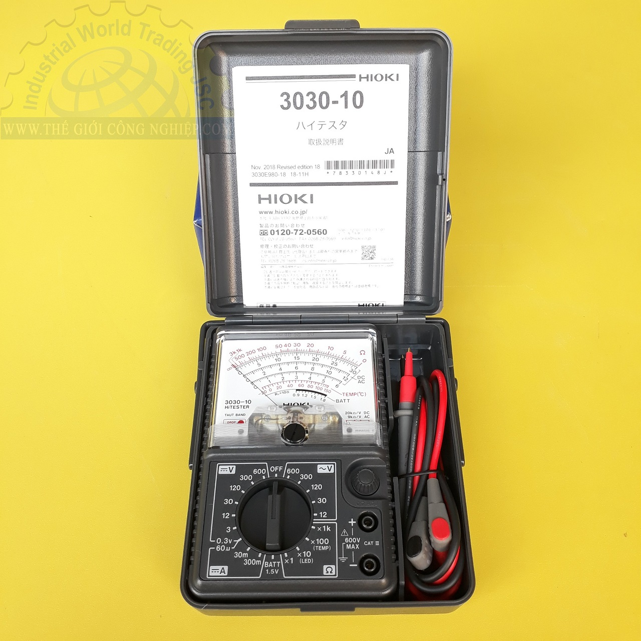 Đồng hồ vạn năng   3030-10 HIOKI