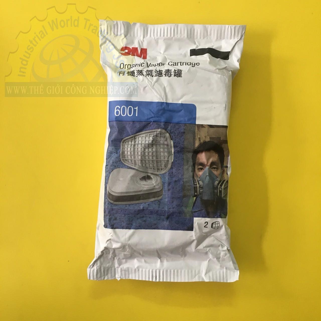 Phin dùng cho mặt nạ  phòng độc 6001  TGCN-33924 3M