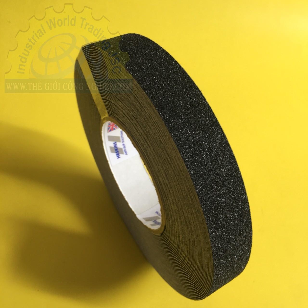 Băng keo nhám chống trượt màu đen 25mmx 18.3m  TGCN-43505 HESKINS