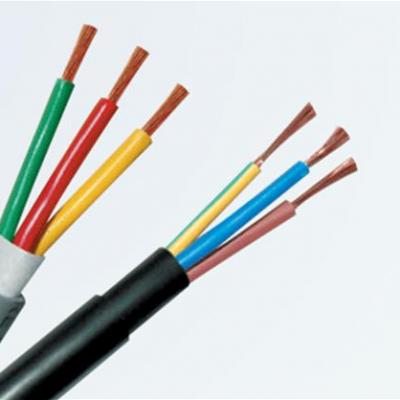 Dây cáp điện mềm tròn 4 ruột VCTF 0.3x4 màu xám  TGCN-16459 CADISUN