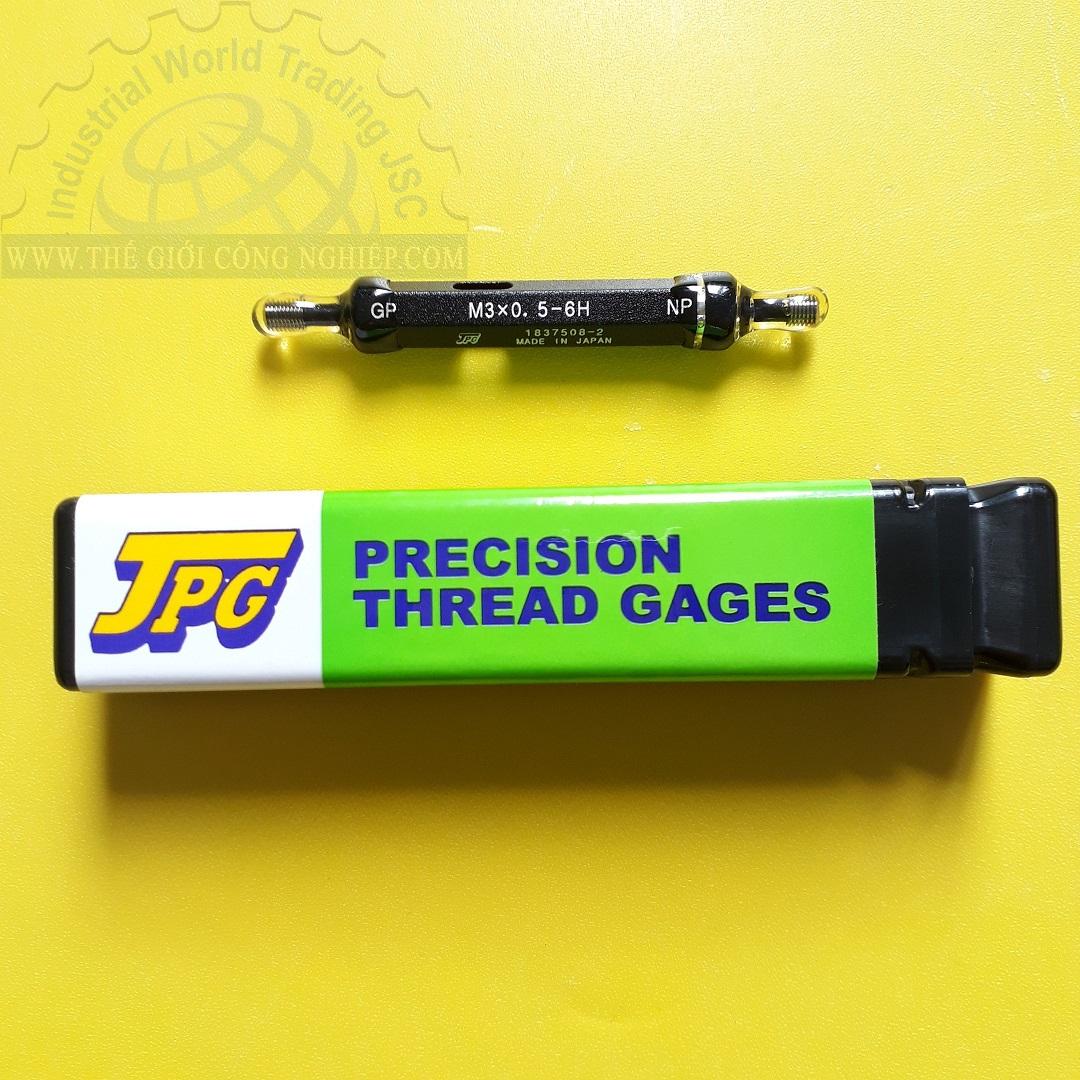 Dưỡng kiểm ren dạng trụ ISO  Thread plug gauge M3x0.5 GPNP 6H JPG