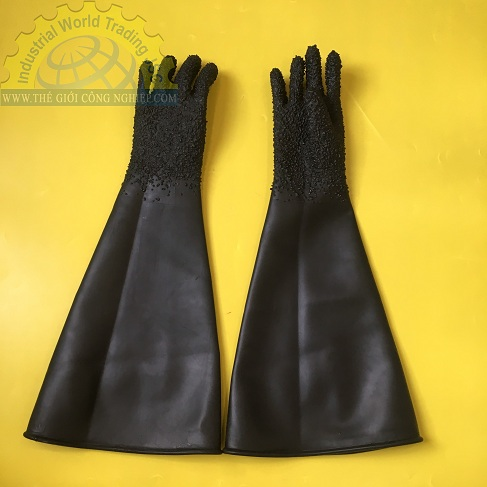 Găng tay phun cát phun bi , chiều dài 85cm  TGCN-44767 OEM-2098