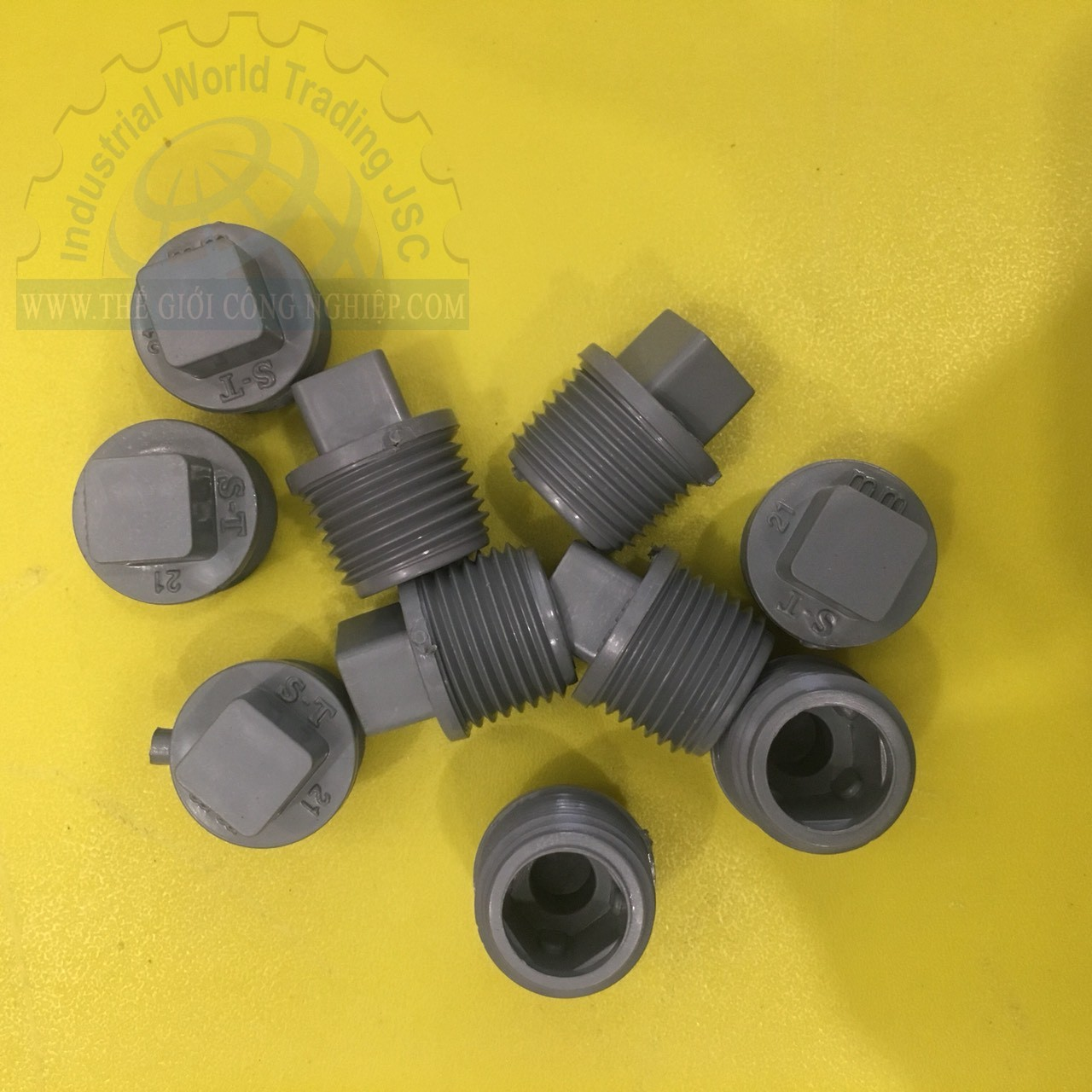 Bít ren ngoài cho ống nhựa 21mm  TGCN-30654 SieuThanhPlastic