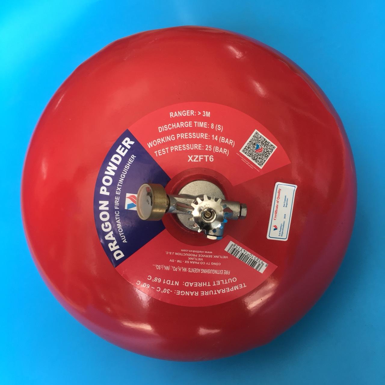 Nạp bột cho quả cầu chữa cháy tự động 6kg XZFT-6  TGCN-46349 China