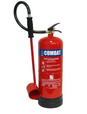 Bình chữa cháy xách tay bột D 9kg  C-9DSE COMBAT
