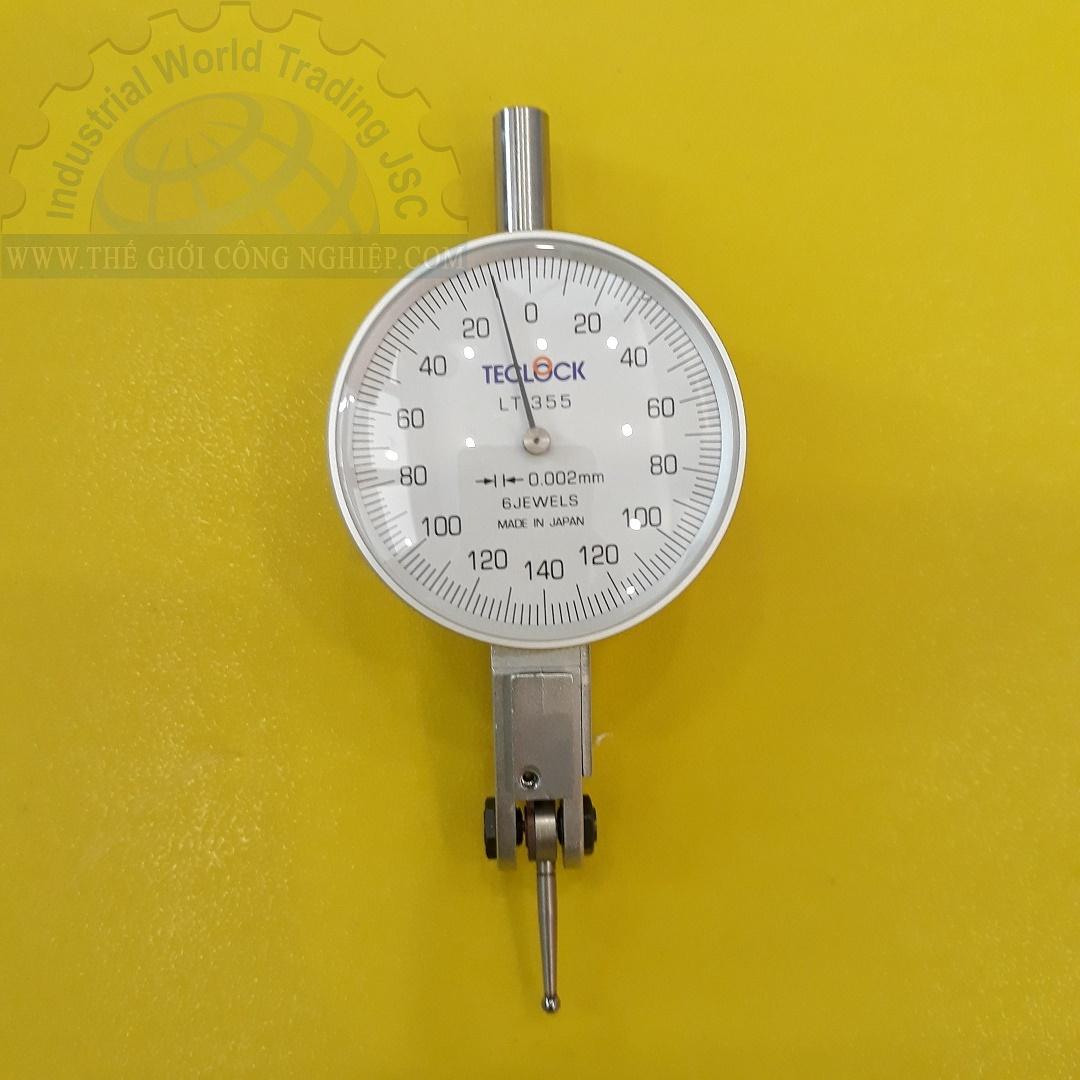 Đồng hồ so chân gập 0.28mm/0.01 mm  LT-355 Teclock