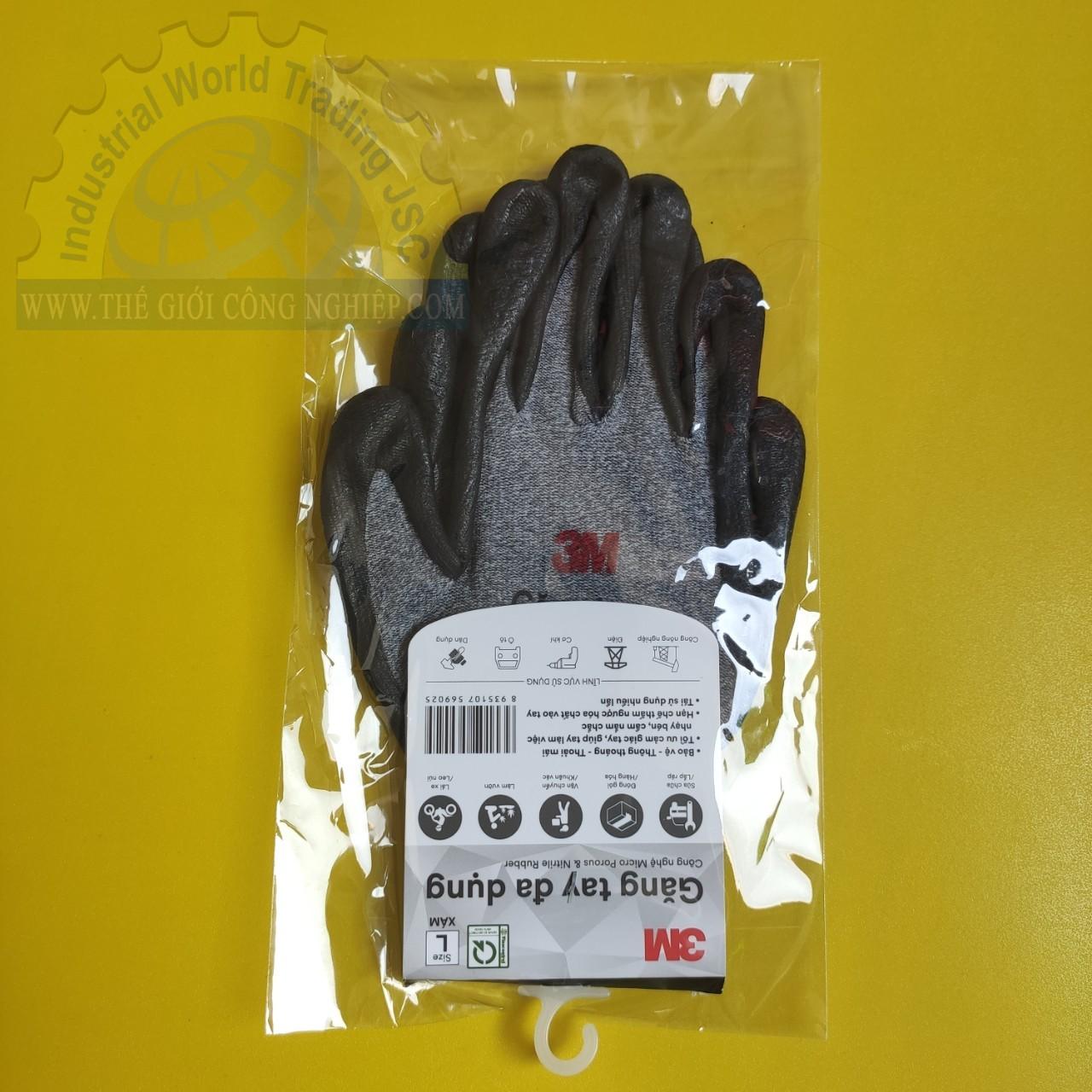 Găng tay đa dụng size L  TGCN-46475 3M