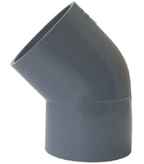 Lơi 45 độ PVC mỏng phi 114   TGCN-30764 Nhựa Bình Minh