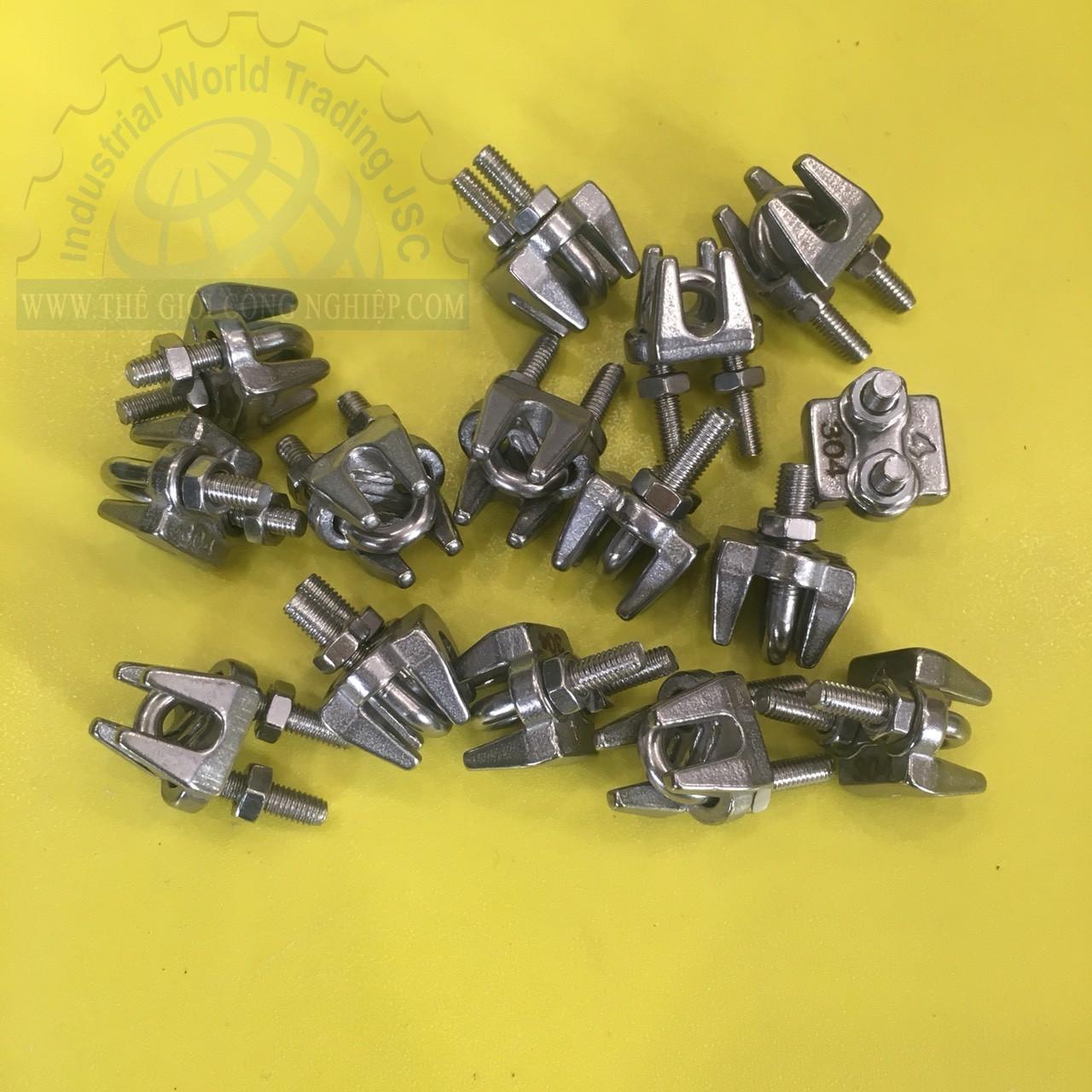 Ốc siết cáp mạ kẽm 6mm  TGCN-46515 OEM-2328