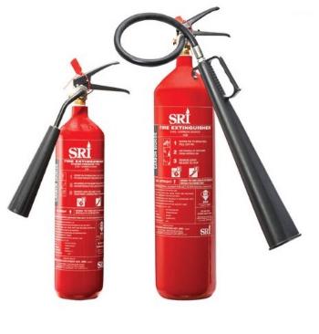 Bình chữa cháy CO2 5kg  FEX139-CS-050-RD SRI