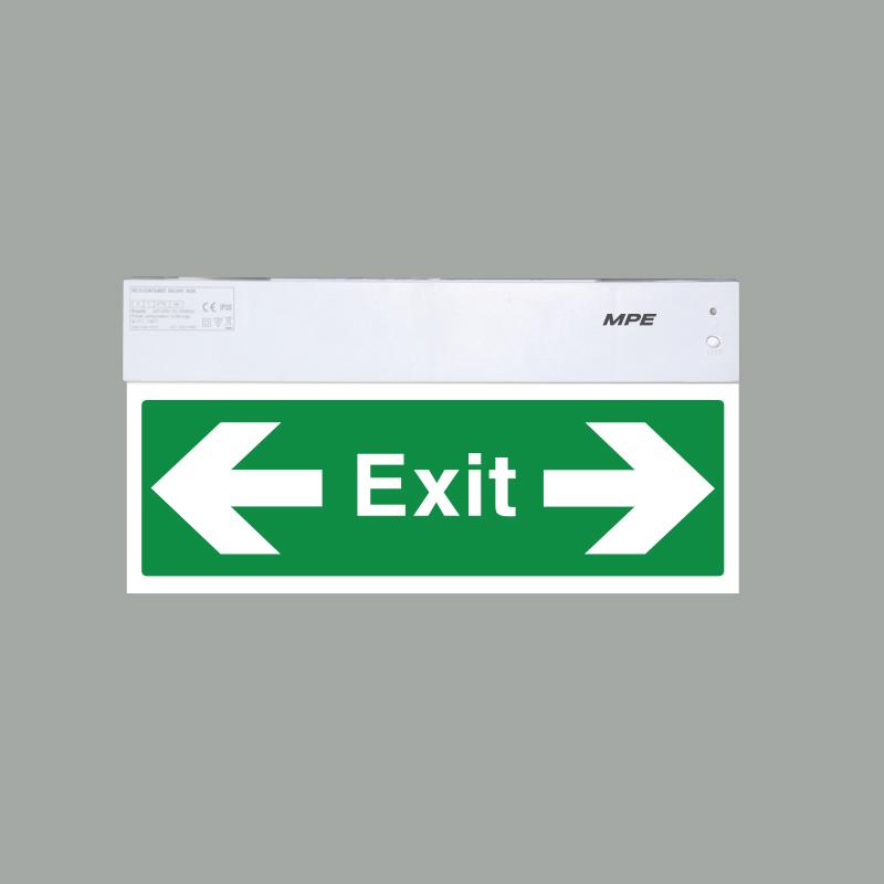 Đèn báo exit đa năng  EXLR/M (MỘT MẶT TRÁI & PHẢI) MPE