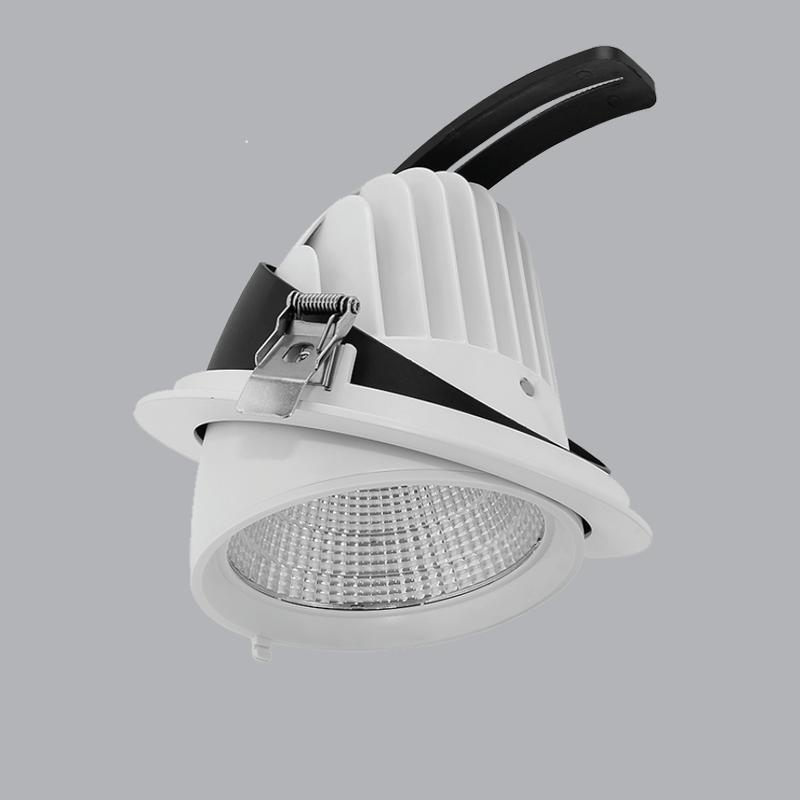 Đèn downlight điều chỉnh nhiều góc chiếu sáng 35w ánh sáng vàng 3000K  DLA-35V MPE