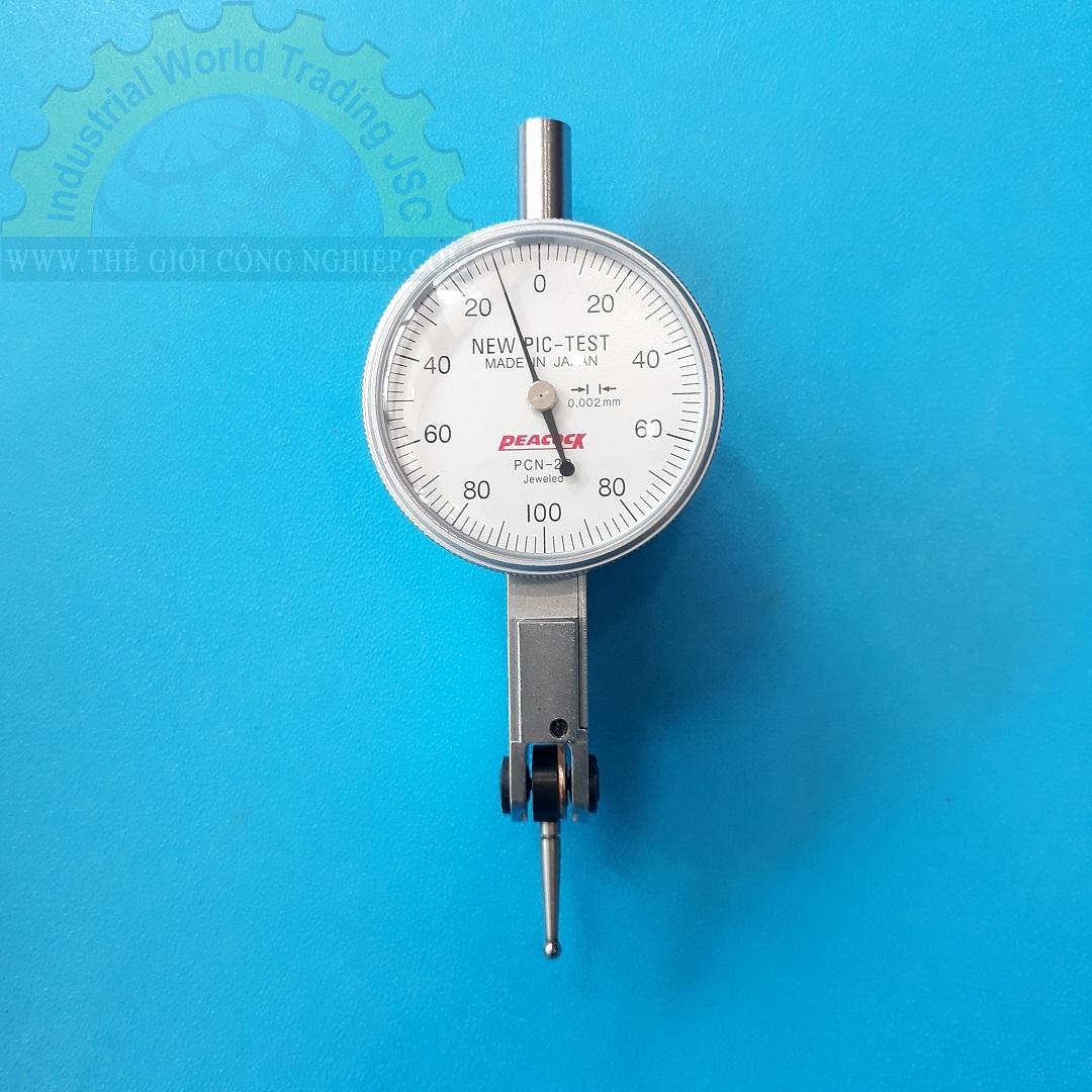 Đồng hồ so chân gập 0.2x0.002mm PCN-2B PEACOCK