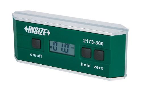 Nivo cân máy điện tử kết hợp đo góc  2173-360 Insize