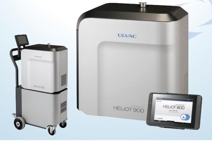 Thiết bị phát hiện rò rỉ khí Heli, Hydro  Heliot 901W1-J1A ULVAC