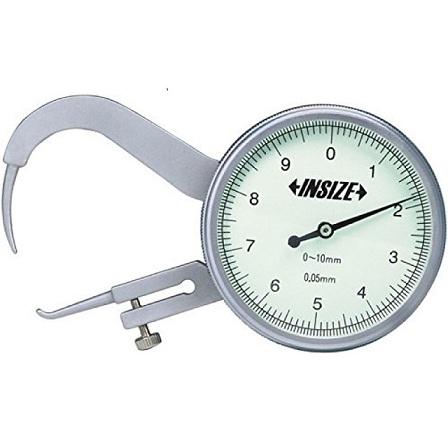 Đồng hồ đo độ dày 10/0.05mm   2866-10 Insize