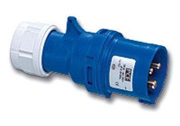 Phích cắm di động không kín nước 16A-3P-230V-6H-IP44  F013-6 PCE