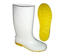Ủng bảo hộ thân trắng đế vàng  RB003 size 41 ( Size 8) OEM-1865