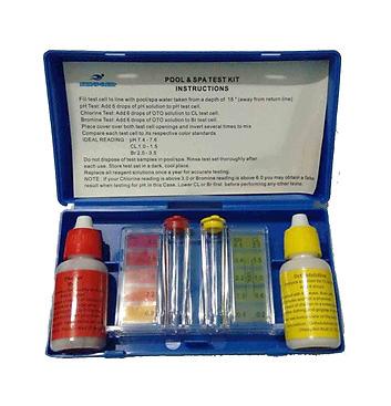Bộ thử PH & Chlorine trong nước Hồ Bơi  A0602 China