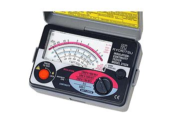 Đồng hồ đo điện trở cách điện (1000V/400MΩ)  3132A KYORITSU