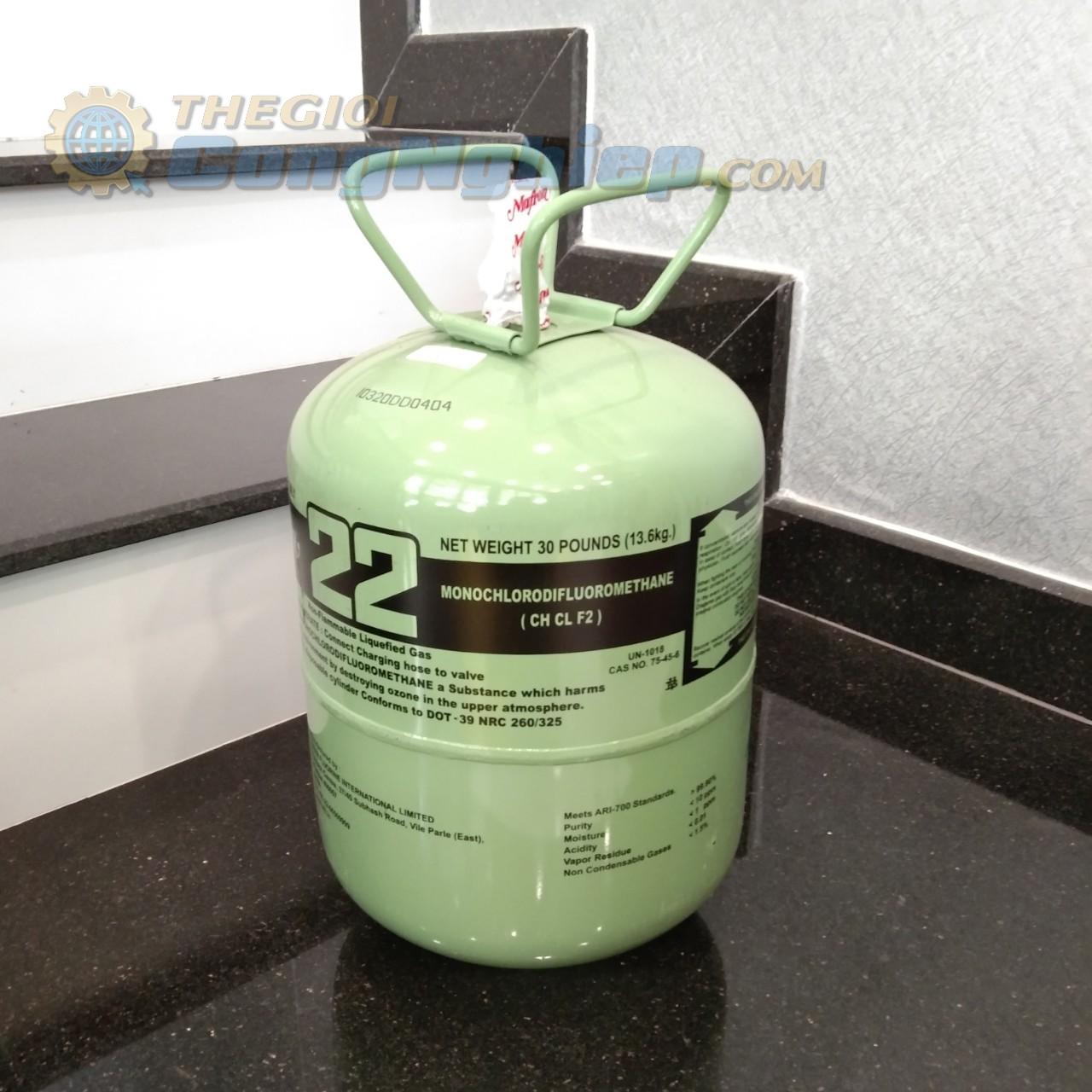 Gas lạnh, ga lạnh   R22 (13.6 kg) MAFRON