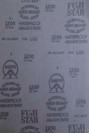 Giấy nhám tờ chịu nước 230x280mm  P 600 Fujistar