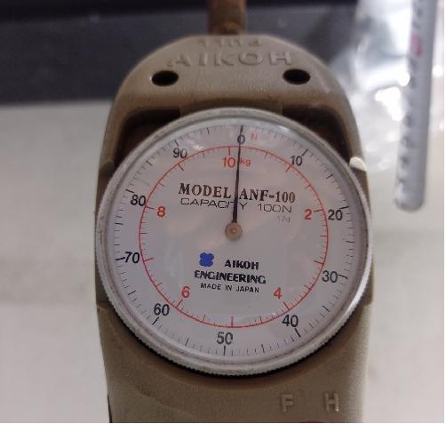 Thiết bị đo lực kéo đẩy đồng hồ cơ dải đo 0~100N  ANF-100N Aikoh