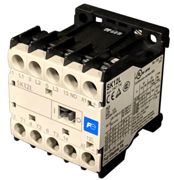 Contactor 12A - Coil 24VDC  SK12L-E10 Fuji-Electric