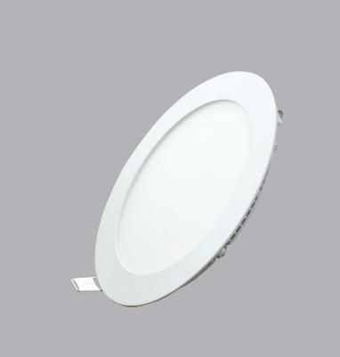 Đèn led panel tròn âm 18W, ánh sáng trắng , kích thước  Ø225 mm, lỗ đục : Ø205mm RPL-18T MPE