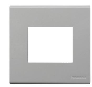 Mặt vuông dùng cho 2 thiết bị  WEV7812MW Panasonic