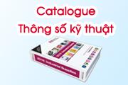 Catalogue thông số kỹ thuật
