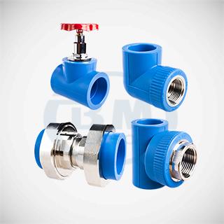 Phụ kiện ống nhựa chịu nhiệt PP-R