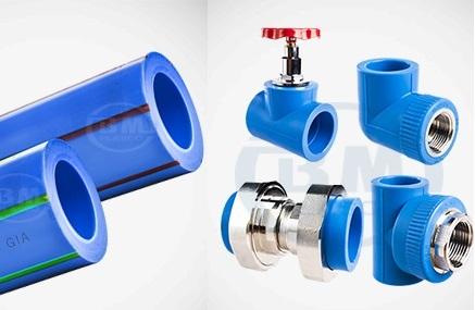Ống nhựa chịu nhiệt PP-R ( PPR ) và phụ kiện