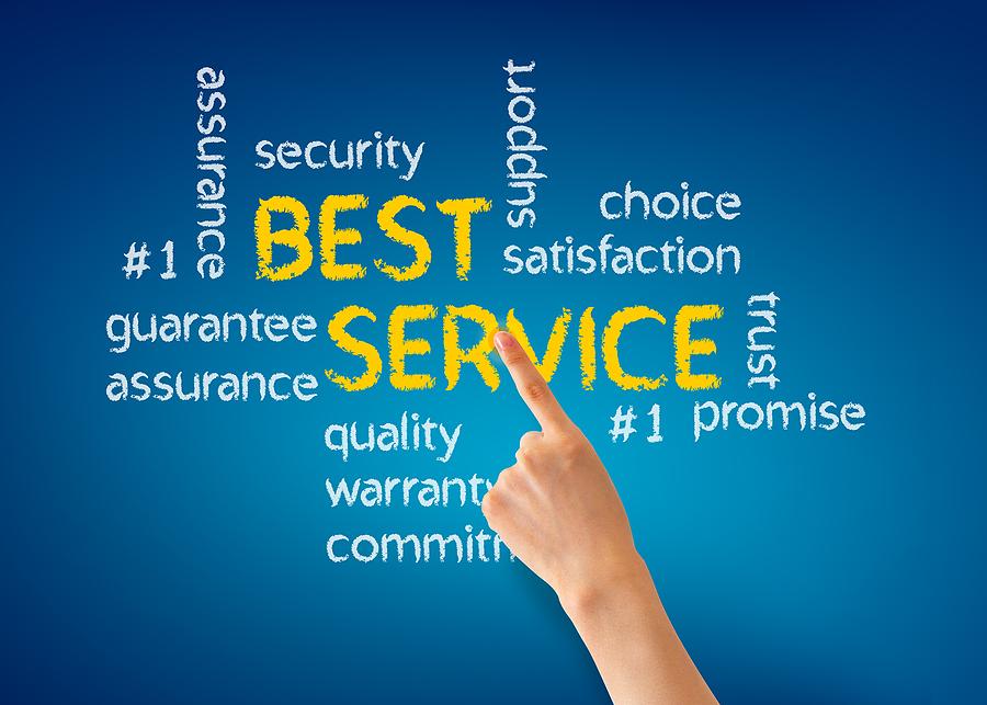 Dịch vụ khách hàng tận tậm là một trong những ưu tiên của chúng tôi