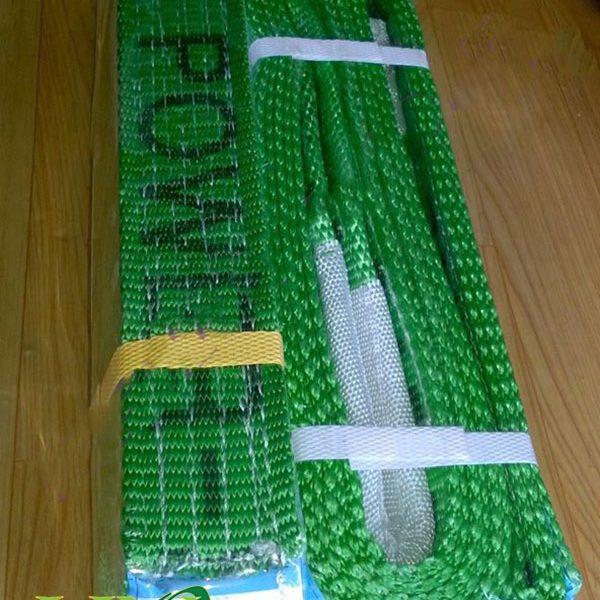 Cáp vải cẩu hàng bản rộng 125mm, dài 12 mét Myung-sung