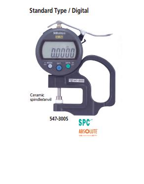 Đồng hồ đo độ dày điện tử  547-300S MITUTOYO