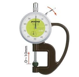 Đồng hồ đo độ dày cơ 10mm G-0.4N PEACOCK