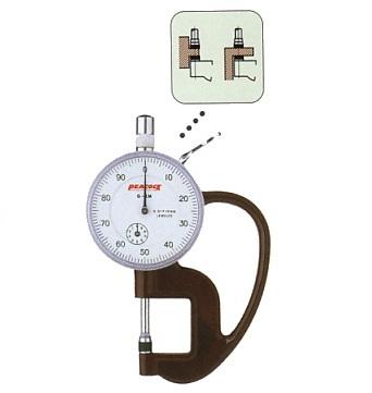 Đồng hồ đo độ dày 10mm G-1M PEACOCK