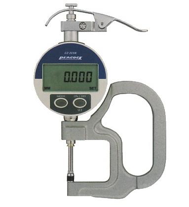 Đồng hồ đo độ dày điện tử 20mm G2-205 PEACOCK
